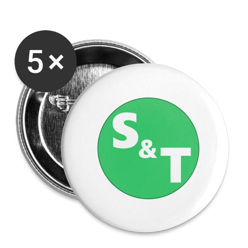 ST Main Logo - Buttons large 2.2''/56 mm (5-pack)