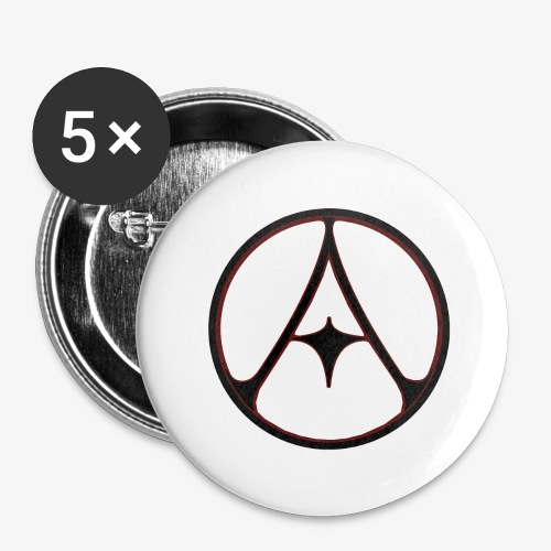 Auldale Logo Acc. - Buttons large 2.2''/56 mm (5-pack)