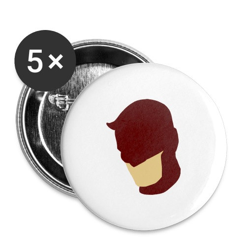 Daredevil Simplistic - Buttons large 2.2''/56 mm(5-pack)