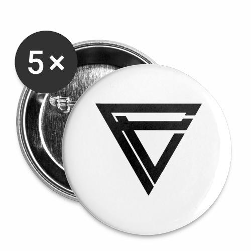 Saint Clothing T-shirt | MALE - Stor pin 56 mm (5-er pakke)