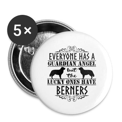 Bernese Berner Angel - Buttons large 2.2''/56 mm(5-pack)