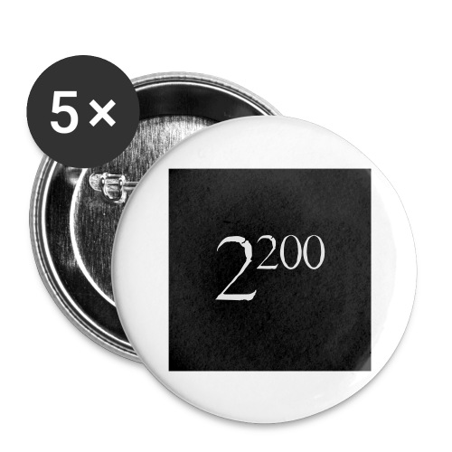 22p00c - Buttons/Badges stor, 56 mm (5-pack)