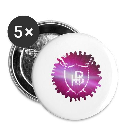 Hustler Brand - Lot de 5 grands badges (56 mm)