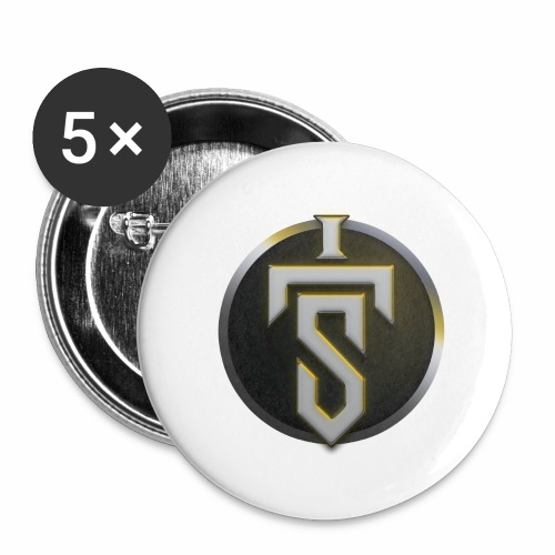Circle Design - Buttons large 2.2''/56 mm(5-pack)