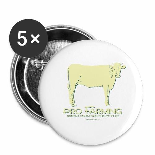 PRO Farming - Confezione da 5 spille grandi (56 mm)