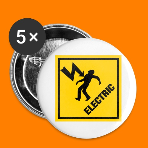 electric - Buttons large 2.2''/56 mm (5-pack)
