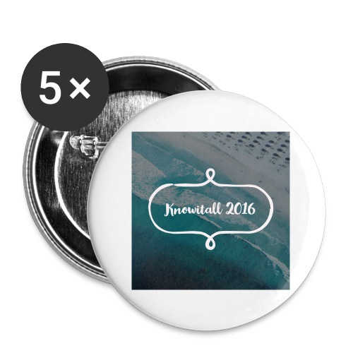 Knowitall 2016 - Buttons large 2.2''/56 mm(5-pack)