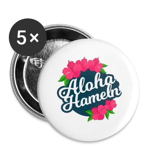 Aloha Hameln | Hawaii SunShine | - Buttons groß 56 mm (5er Pack)