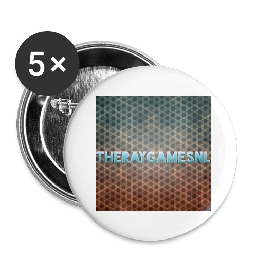 TheRayGames Merch - Buttons large 2.2''/56 mm (5-pack)