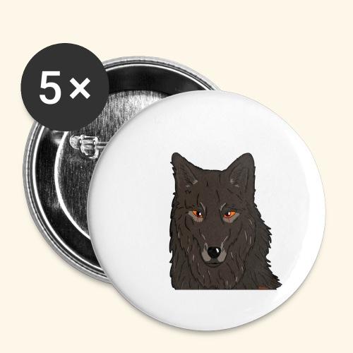 HikingMantis - Buttons/Badges stor, 56 mm (5-pack)