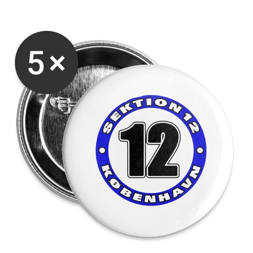 Udklip - Buttons/Badges stor, 56 mm (5-pack)