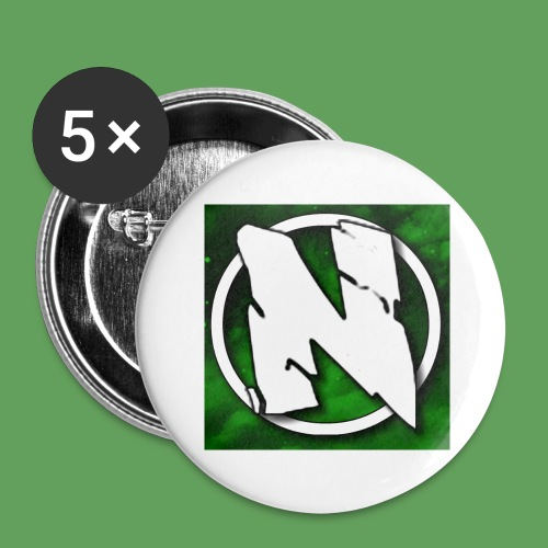 NightcoreUniversity Logo - Stora knappar 56 mm (5-pack)