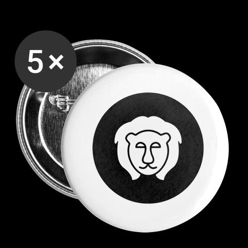 5nexx - Buttons groot 56 mm (5-pack)