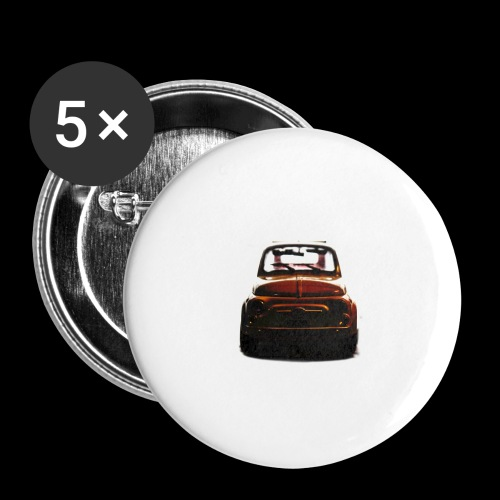 500gold - Confezione da 5 spille grandi (56 mm)