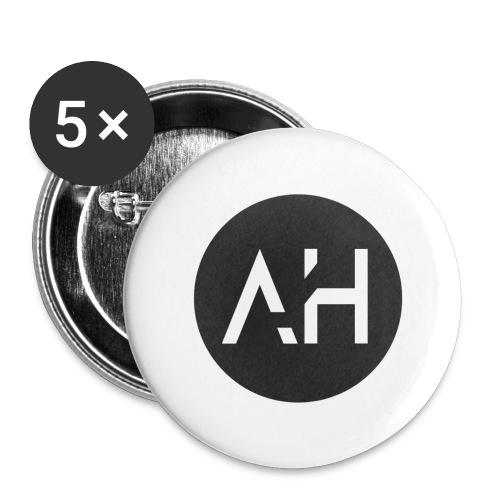 Crew logo - Stora knappar 56 mm (5-pack)