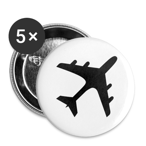 GoldenWings.tv - Buttons large 2.2''/56 mm(5-pack)
