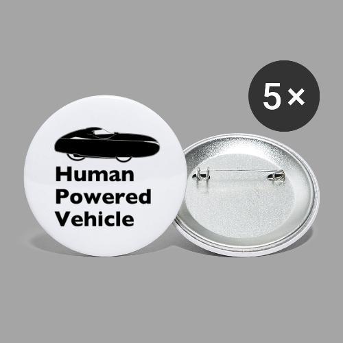 Quest Human Powered Vehicle 2 black - Rintamerkit isot 56 mm (5kpl pakkauksessa)