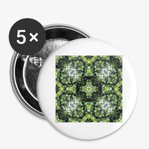 MOTIF L T4 Plt grasse - Lot de 5 grands badges (56 mm)