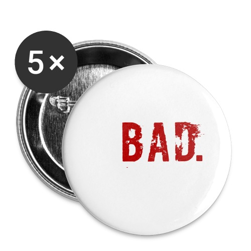 Swooping is Bad Design - Buttons large 2.2''/56 mm(5-pack)