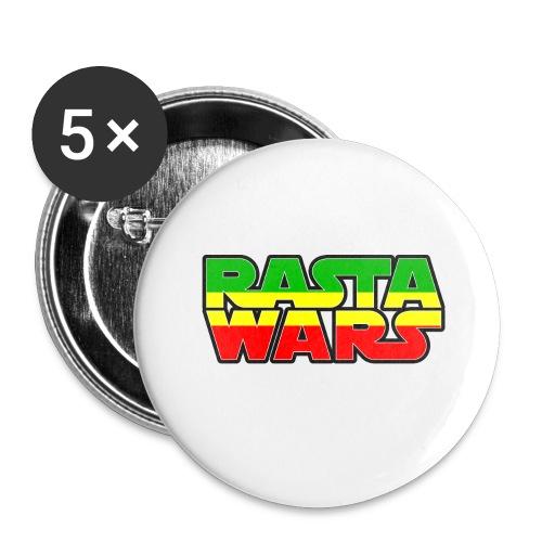 RASTA WARS KOUALIS - Lot de 5 grands badges (56 mm)