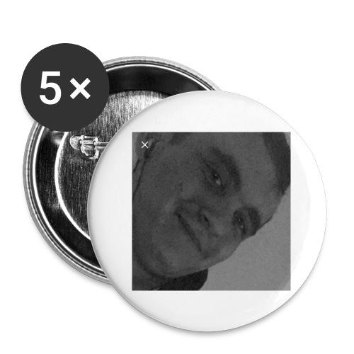 Miguelli Spirelli - Lot de 5 grands badges (56 mm)