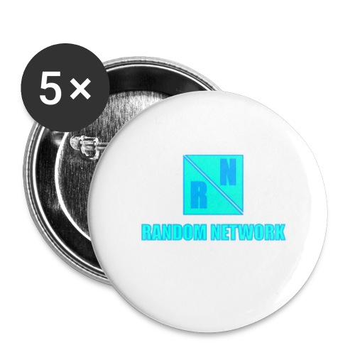 RandomNetwork accessoires - Buttons groot 56 mm (5-pack)