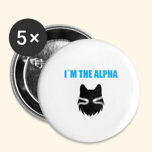 im the alpha - Rintamerkit isot 56 mm (5kpl pakkauksessa)