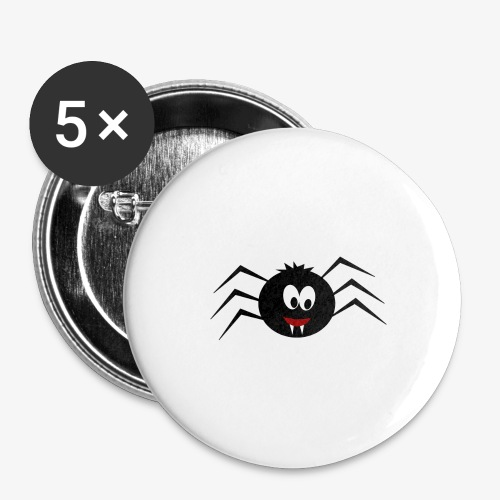 Little Spider - Buttons large 2.2''/56 mm (5-pack)