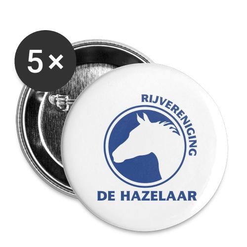 LgHazelaarPantoneReflexBl - Buttons groot 56 mm (5-pack)