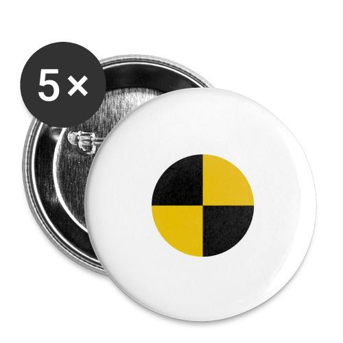 crash test - Buttons large 2.2''/56 mm(5-pack)