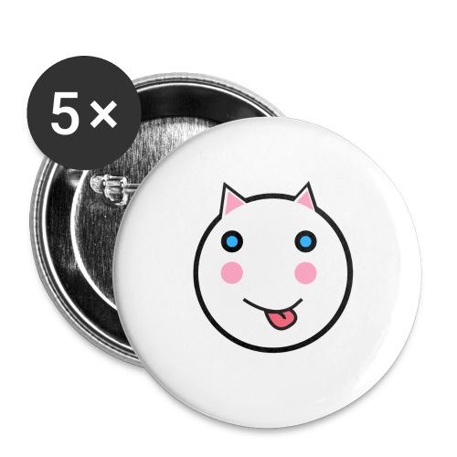 Alf Cat | Alf Da Cat - Buttons large 2.2''/56 mm(5-pack)