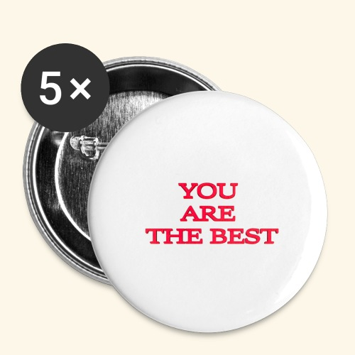 best 717611 960 720 - Buttons/Badges stor, 56 mm (5-pack)