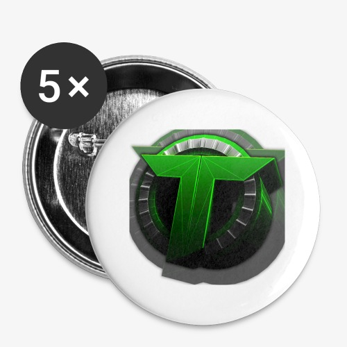 TEDS MERCHENDISE - Stor pin 56 mm (5-er pakke)