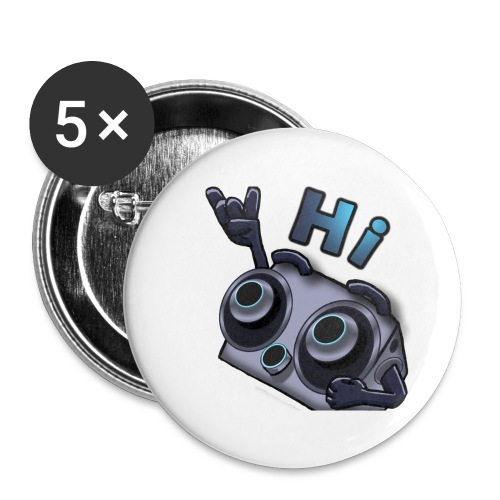 The DTS51 emote1 - Buttons groot 56 mm (5-pack)