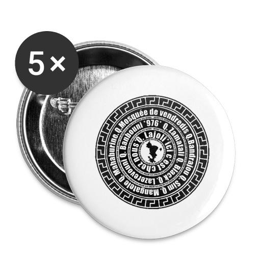 WENKA 4 - Lot de 5 grands badges (56 mm)