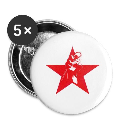 Ipod revolution - Stora knappar 56 mm (5-pack)