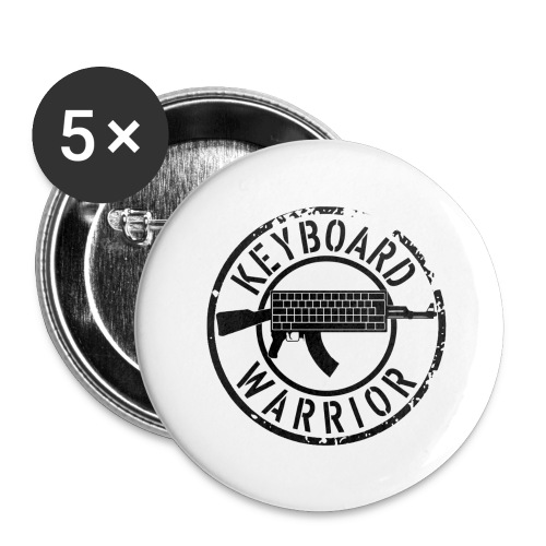 keyboard warrior - Buttons large 2.2''/56 mm(5-pack)