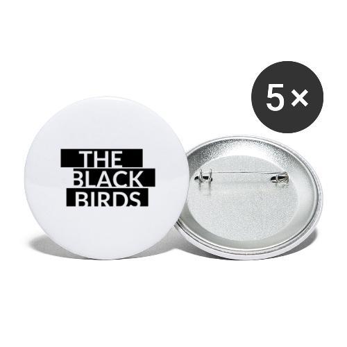 The Black Birds - Confezione da 5 spille grandi (56 mm)