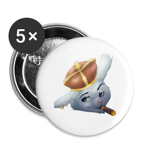 Logo PNG - Buttons/Badges stor, 56 mm (5-pack)
