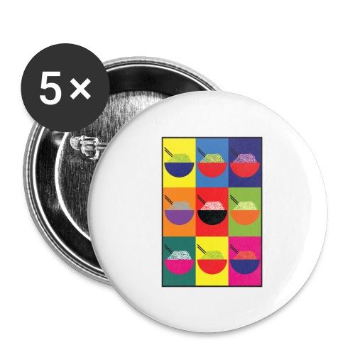 Pop Pho Art - Lot de 5 grands badges (56 mm)