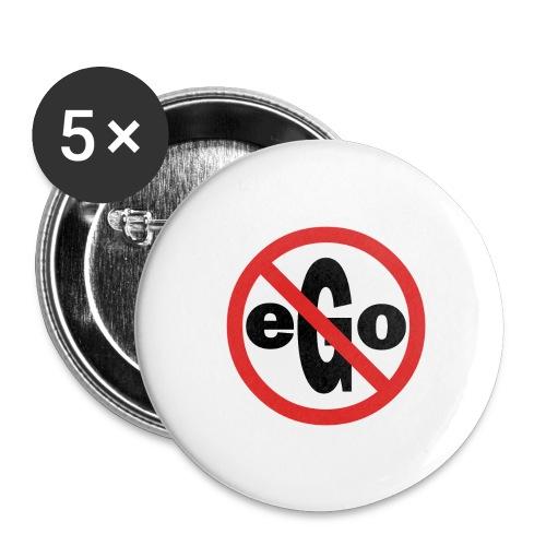 Ego is too big - Lot de 5 grands badges (56 mm)
