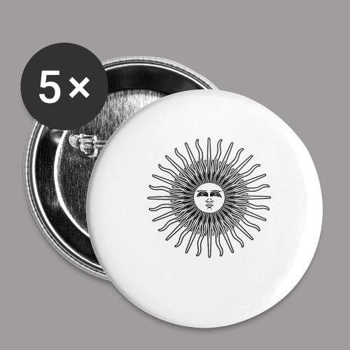 FOLK HORROR REVIVAL Black on white - Buttons large 2.2''/56 mm(5-pack)