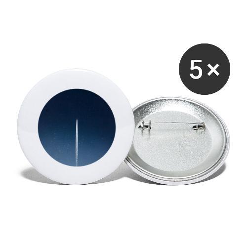 spaceflight - Buttons groß 56 mm (5er Pack)