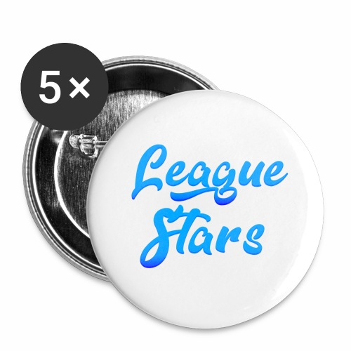 LeagueStars - Buttons groot 56 mm (5-pack)