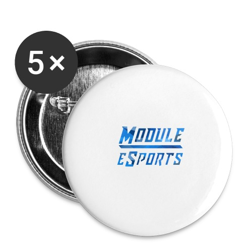 Module Text Logo - Buttons large 2.2''/56 mm(5-pack)