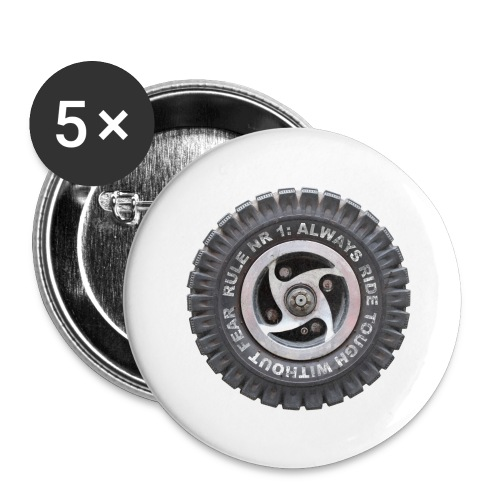 toughwheels - Buttons groot 56 mm (5-pack)