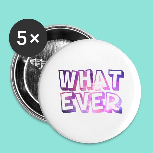 Whatever - Buttons groot 56 mm (5-pack)