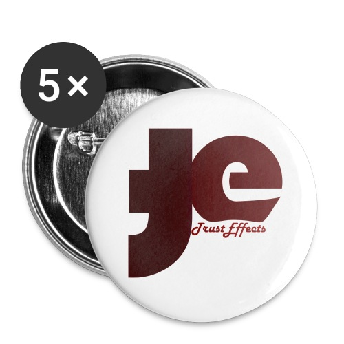 company logo - Buttons large 2.2''/56 mm (5-pack)