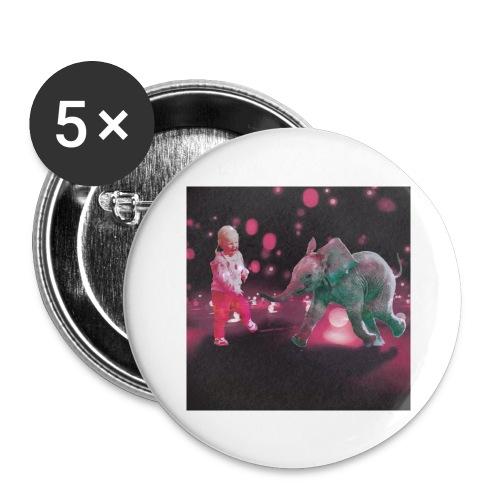 Dance Baby - Stor pin 56 mm (5-er pakke)