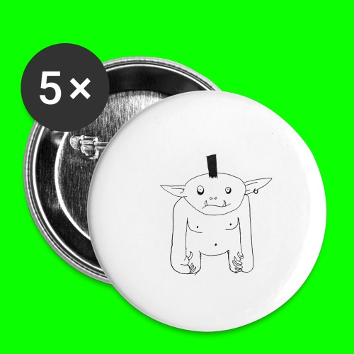 Grol - Buttons large 2.2''/56 mm(5-pack)